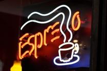 Espresso Sign Pike Place Market Seattle