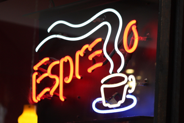 Espresso Sign