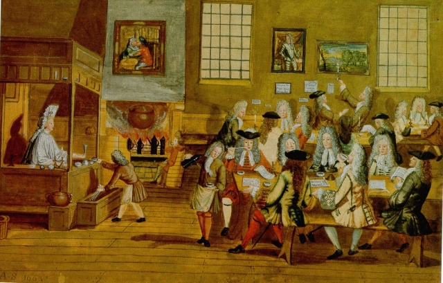 London coffee house 17th century