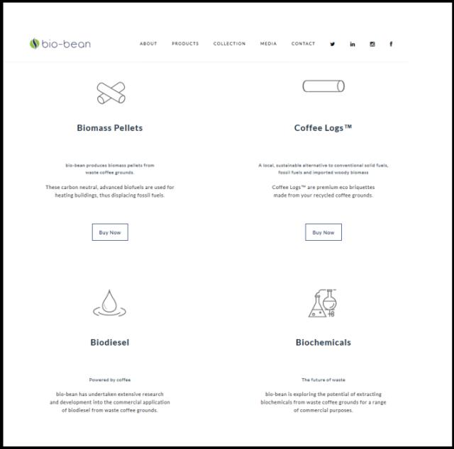 Biobean website