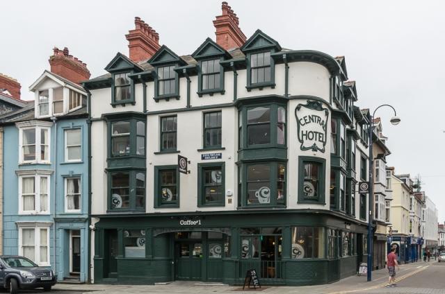 Coffee#1 shop in Aberystwyth Source: Wikimedia