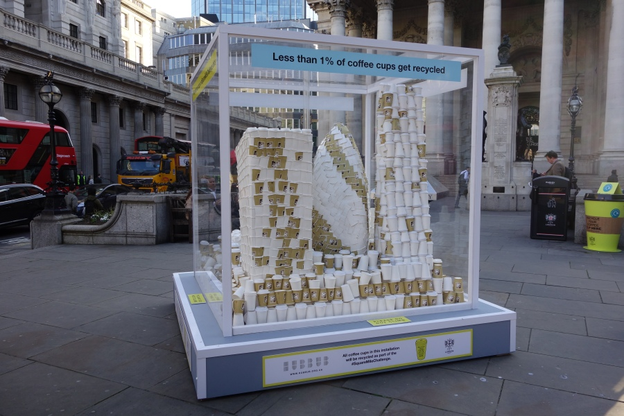Square Mile Challenge London Coffee Cups