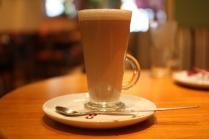 Costa Coffee Vanilla latte Coventry Coffee Shop