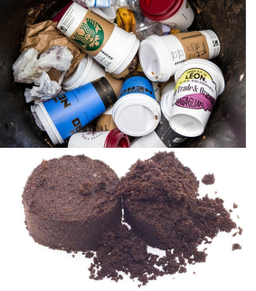 coffee waste