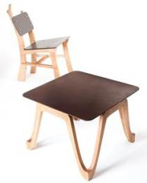 coffee grounds furniture reworked