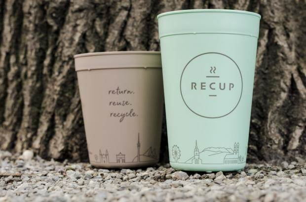 recup reusable coffee cup germany