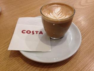 Costa coffe Cortado Coventry
