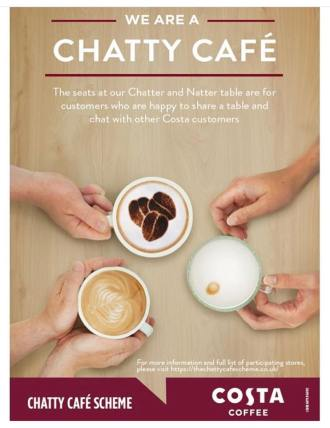 Costa Coffee Chatty Cafe
