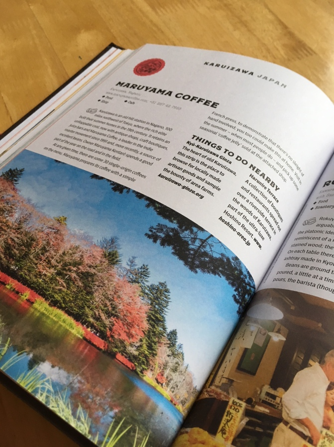 Lonely Planet Global Coffee Tour book