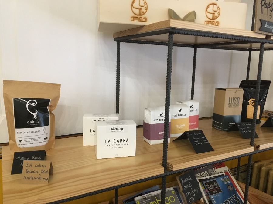 C'Alma Specialty Coffee Room Porto Portugal