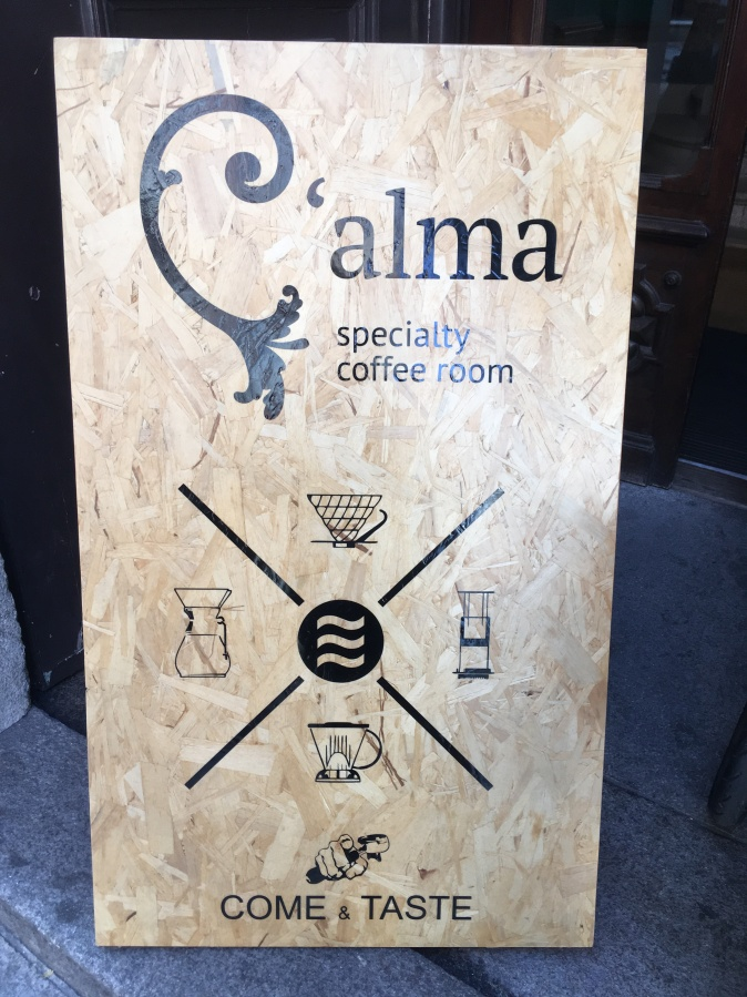 C'Alma Specialty Coffee Room Portugal Porto