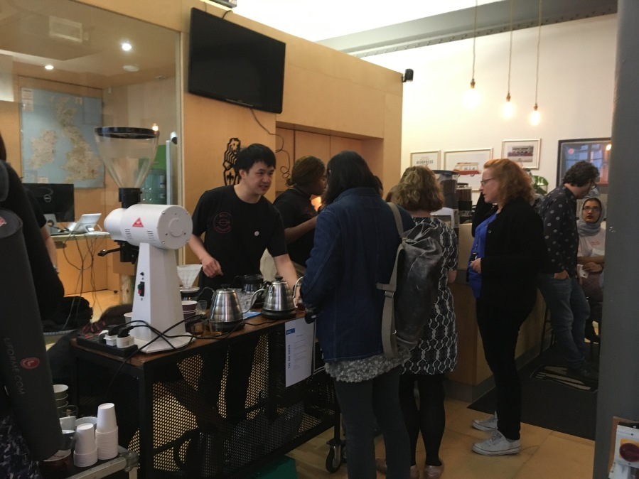 Well Grounded Pop up barista event specialty coffee
