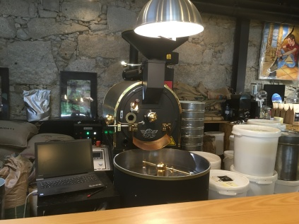7g coffee roaster Gaia Porto Portugal