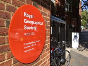 Royal Geographical Society entrance