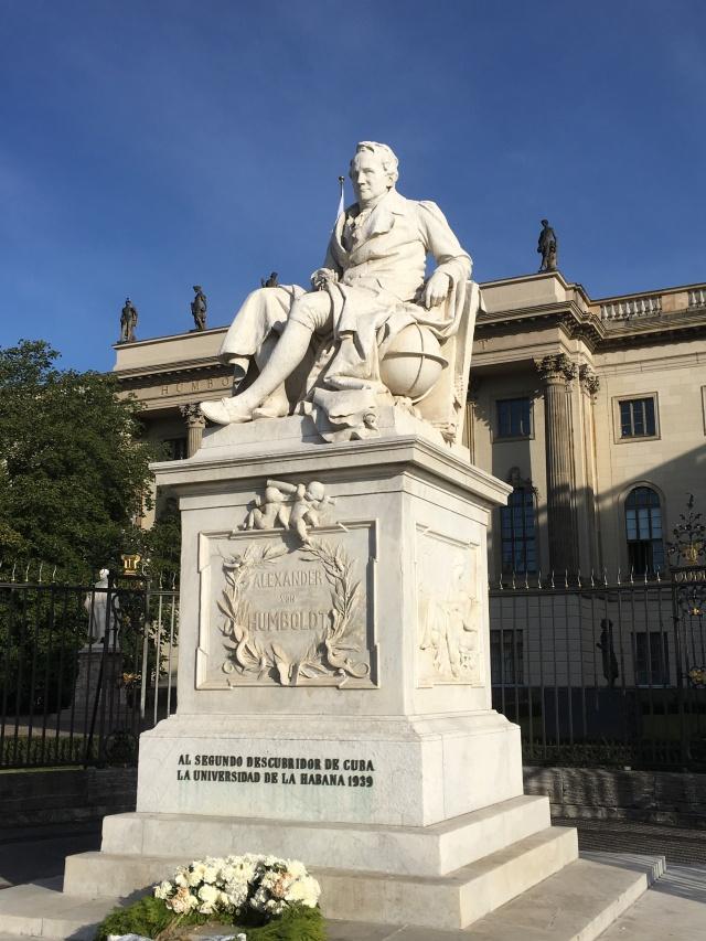 Humboldt statue Berlin